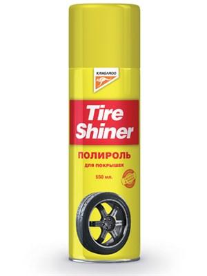 """""""Tire Shiner"""" Пенный полироль шин 550мл. - фото 4613"""