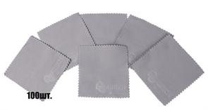 Салфетки для нанесения защитных составов 10*10 см серые арт. Au-1044/100