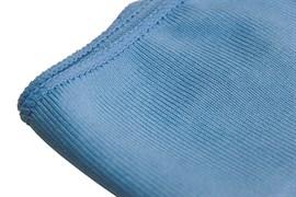 Салфетка из микрофибры для стёкол, голубая (Арт.: 12.6025)